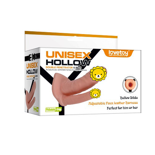 Unisex Hollow Strap On