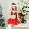 Christmas girl short skirt