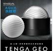 日本TENGA GEO探索球厚實膠體自慰套-AQUA(水紋球)