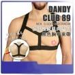 日本Aone 狂野性感肌肉猛男Dandy Club89 黑色胸甲束帶