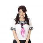 水手圍巾粉紅色