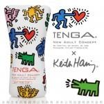 日本TENGA x 美國Keith Haring 柔情吸吮軟膠杯