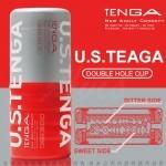 日本TENGA 陰部+後庭 雙頭2用型自慰杯  挺二重奏杯US加大款