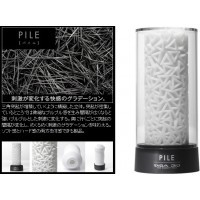 日本TENGA.3D New Concept Hole 立體紋路非貫通自慰套Pile (樁)