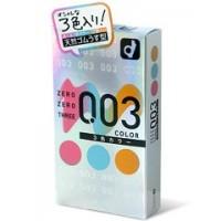 岡本。零零三 0.03 3-色系 (日本版) 12 片裝