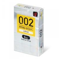 日本Okamoto岡本薄度均一0.02EX 大碼安全套(日本版) 6片裝