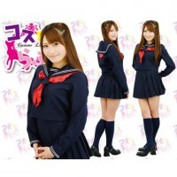 Costume Love 純情女高校生冬季校服套裝