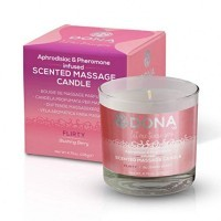 Dona - Scented Massage Candle Blushing Berry 135g