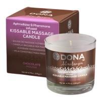 美國Dona Kissable Massage Candle 親吻按摩油蠟燭 (巧克力慕絲)135G