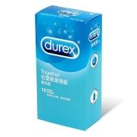 Durex Together 12's Pack Latex Condom