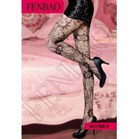 Europe and the United States jacquard sexy pantyhose socks