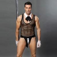 性感透視男僕情趣內衣男傭裝情趣制服