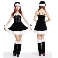 Halloween Christmas Costume Costume Large bowknot suspenders
