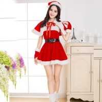 Christmas party costume sexy cute Christmas costume Christmas actress