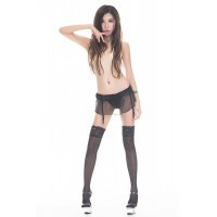 Japanese Kneeling Stockings (Black)