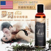 Intimate Earth Vanilla Chai Oil Massage 120 ml