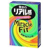日本Sagami 相模 奇蹟2段超貼身安全套 (5片裝)