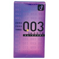 日本Okamoto 0.03 Smooth 岡本0.03順滑安全套10片