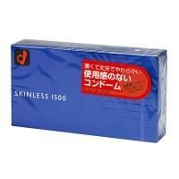 岡本 Okamoto 薄感1500 貼身安全套12片 日本版