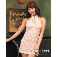 Mon Chéri 白色戀人蕾絲旗袍套裝