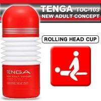日本TENGA 挺搖滾杯女上男下型自慰杯 -標準