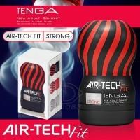 日本TENGA AIR-TECH FIT 舒適空壓飛機杯-緊實型 (黑) 可重複使用
