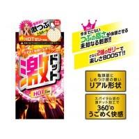 日本JEX*超級突點發熱型安全套 (8片裝)