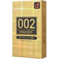 日本岡本0.02 真‧貼身 安全套 6片裝