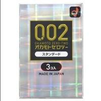 岡本 薄度均一 0.02EX (日本版)安全套 3片裝