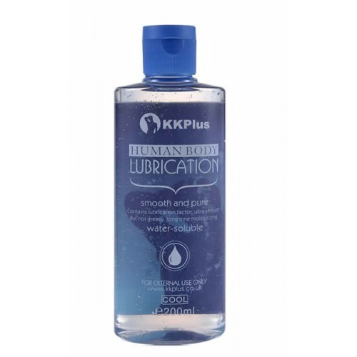 KKPLUS水溶情頂級潤滑液200ml- 冰感型