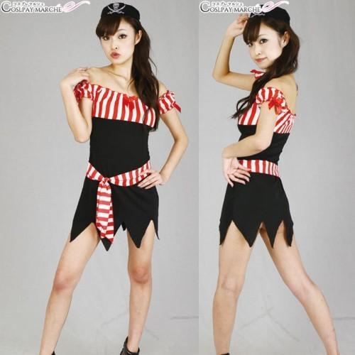 安妮瑪麗海盜角色扮演服裝