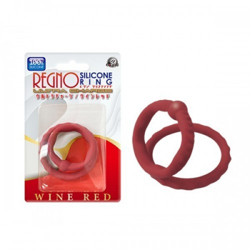Regno Silicone Ring Ultra Charge(wine red)