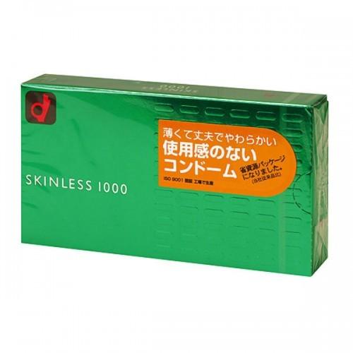 岡本 Okamoto 薄感1000 安全套12片 日本版